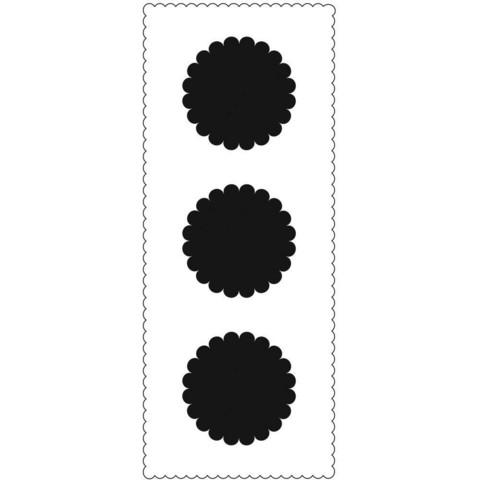 Crafter's Workshop Slimline sapluuna Scalloped Circles