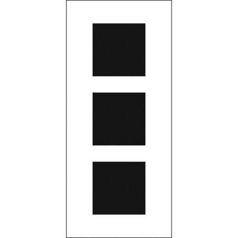 Crafter's Workshop Slimline sapluuna Triple Squares