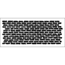 Crafter's Workshop Slimline sapluuna Bricks Horizontal