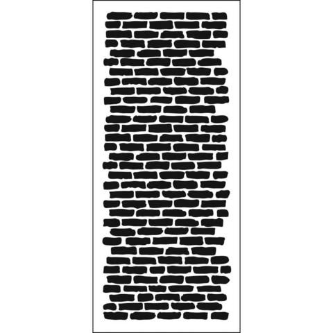 Crafter's Workshop Slimline sapluuna Bricks Vertical