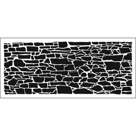 Crafter's Workshop Slimline sapluuna Rock Wall