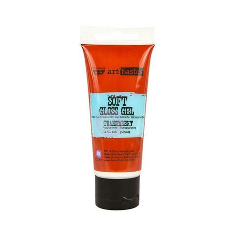 Finnabair Art Basics Soft Gloss Gel, transparent, 59 ml