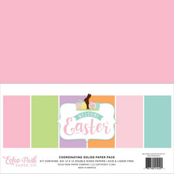 Echo ParkWelcome Easter, Solids -paperipakkaus, 12