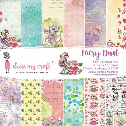 Dress My Craft paperipakkaus Fairy Dust