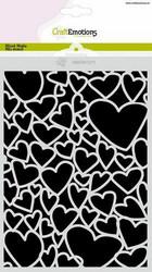 CraftEmotions sapluuna Hearts