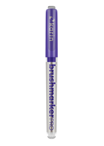 Karin BrushmarkerPRO -kynä, sävy Violet Blue