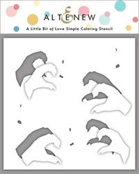 Altenew A Little Bit of Love Simple Coloring -sapluuna