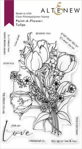 Altenew Paint-A-Flower: Tulips -leimasinsetti