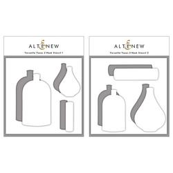 Altenew Versatile Vases 2 -sapluuna- ja maskisetti