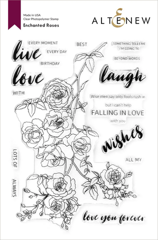 Altenew Enchanted Roses -leimasinsetti