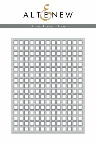Altenew Grid Cover -stanssi