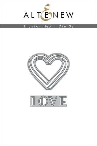 Altenew Illusion Heart -stanssisetti