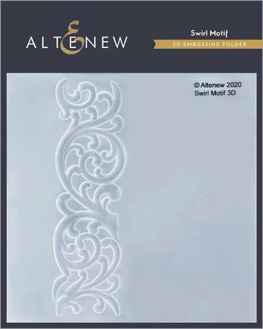 Altenew 3D kohokuviointikansio Swirl Motif