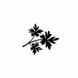 Lavinia Stamps leimasin Mini Leaf 1