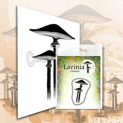Lavinia Stamps leimasin Mini Meadow Mushroom