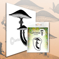 Lavinia Stamps leimasin Mini Forest Mushroom