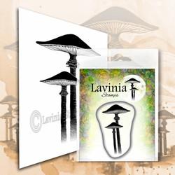 Lavinia Stamps leimasin Meadow Mushroom