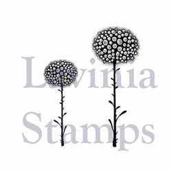 Lavinia Stamps leimasin Glow Flowers