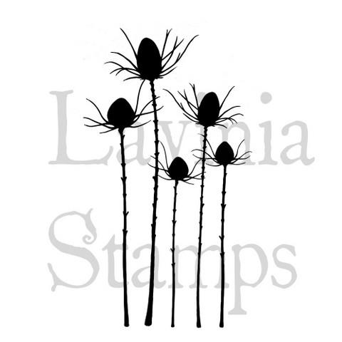 Lavinia Stamps leimasin Silhouette Thistle