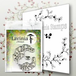 Lavinia Stamps leimasin Berry Wreath