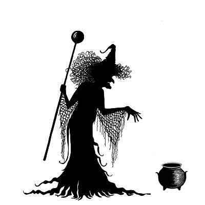 Lavinia Stamps leimasin Willow the Witch