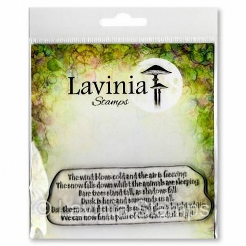 Lavinia Stamps leimasin Snow Falls