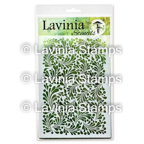 Lavinia Stamps sapluuna Feather Leaf