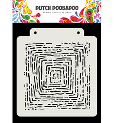 Dutch Doobadoo Grunge Lines -sapluuna