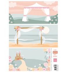 Marianne Design korttikuvat Eline's Wedding Background