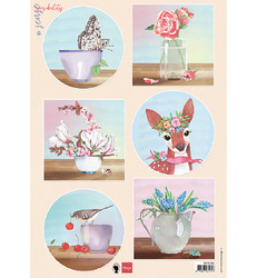 Marianne Design korttikuvat Sensibility Deer