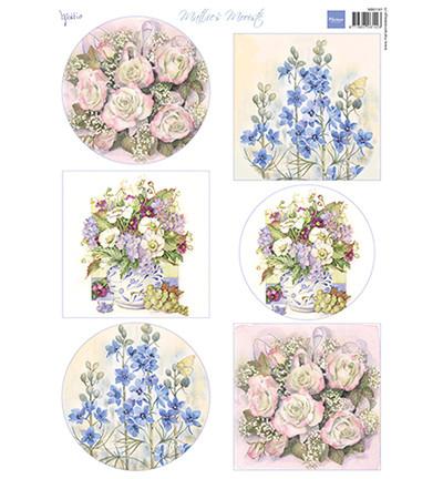 Marianne Design korttikuvat Field Flowers