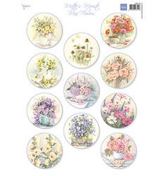 Marianne Design korttikuvat Mattie's Mini's, Flowers