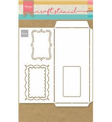 Marianne Design sapluuna Slimline envelope