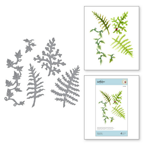 Spellbinders stanssisetti Ferns & Ivy