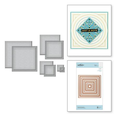 Spellbinders stanssisetti Essential Squares