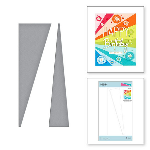 Spellbinders stanssisetti Color Block Slices