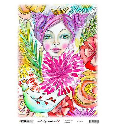 Studio Light riisipaperi Marlene's World 13