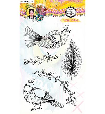Studio Light Marlene's World leimasinsetti Sweet Birdie