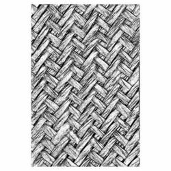 Sizzix 3-D Texture Fades kohokuviointikansio Intertwined