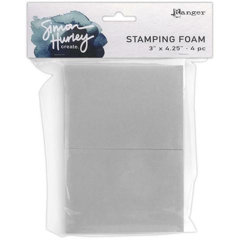 Simon Hurley Create Stamping Foam, leimailusieni, 4 kpl