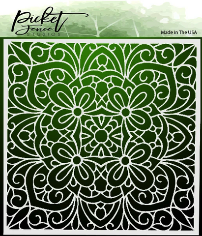 Picket Fence sapluuna Coloring Book