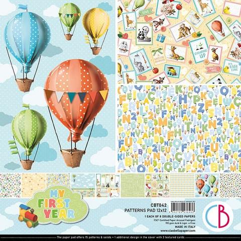 Ciao Bella Patterns Pad paperipakkaus My First Year 12