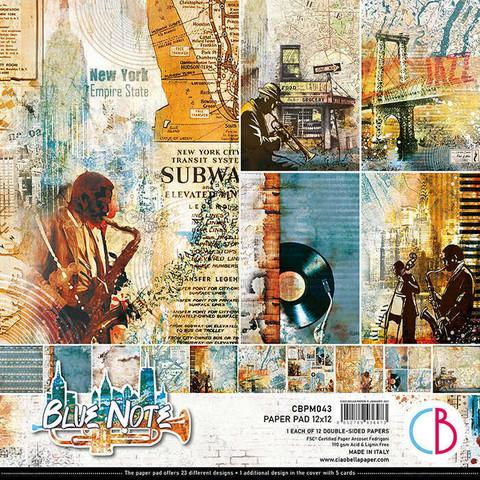 Ciao Bella paperipakkaus Blue Note, 12