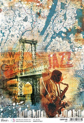 Ciao Bella riisipaperi Jazz