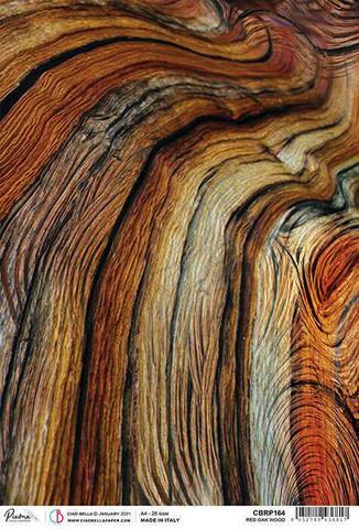 Ciao Bella riisipaperi Red Oak Wood