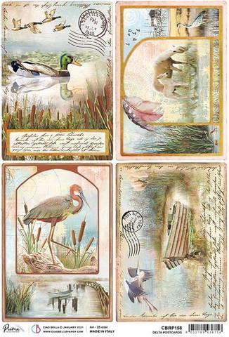 Ciao Bella riisipaperi Delta Postcards