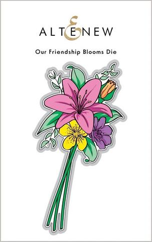 Altenew Our Friendship Blooms -stanssisetti