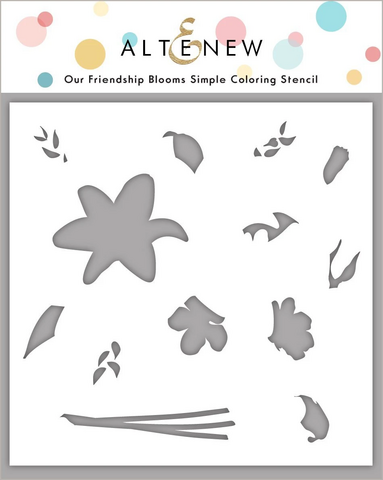 Altenew Our Friendship Blooms Simple Coloring -sapluuna
