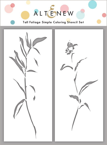 Altenew Tall Foliage Simple Coloring -sapluunasetti