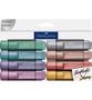 Faber-Castell Textliner yliviivauskynät Metallic
